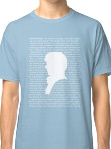 SHERLOCK Best of Quotes Classic T-Shirt
