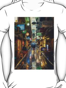 Rainy Day in Bohemian Melbourne T-Shirt