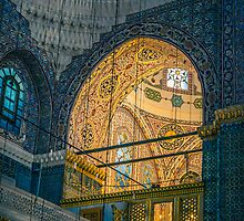 Blue mosque by Dobromir Dobrinov