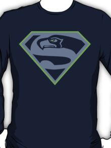 Seattle Seahawks NFL Fans Funny t-shirt Superhawk Limited S-2XL T-Shirt