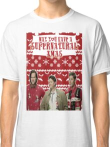 Supernatural Christmas Classic T-Shirt