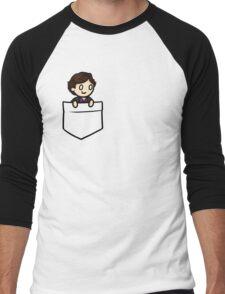 PocketSherlock Men's Baseball ¾ T-Shirt