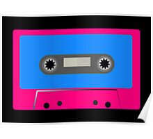 Retro Vintage Cassette Tape - Cool Pop Music T Shirt Prints Stickers Poster