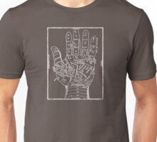 Ancient Palm Reading Chart Unisex T-Shirt