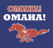 OMAHA! OMAHA! Peyton Manning Play Denver Broncos NFL Fan tshirt S-2XL by scheme710