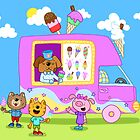 Ice Cream Van by ShakeyIllustra