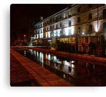 Commercial Quay Canvas Print