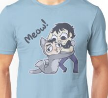 Mr. Mumbles, No! (Dark Text) Unisex T-Shirt