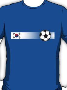 Football Stripes South Korea T-Shirt