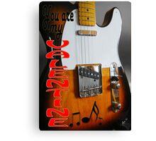 VALENTINE Fender Telecaster Canvas Print