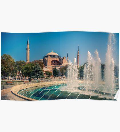 Beautiful Hagia Sophia Poster