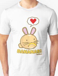 Fuzzballs Bunny Bananas! Unisex T-Shirt