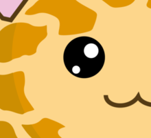 Fuzzballs OMG Giraffe Sticker
