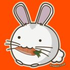 Fuzzballs Bunny Carrot by rabbitbunnies