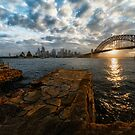 Sydney sunset by Adriano Carrideo