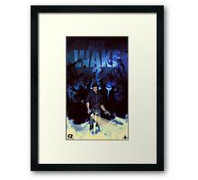 Alan Wake 2 Fan Poster Framed Print