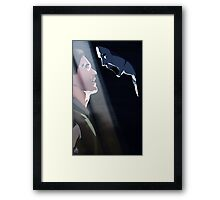 Balance slays the Demon Framed Print