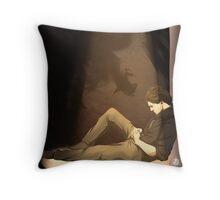 Sleep while you can. Throw Pillow