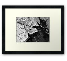 Splits Framed Print