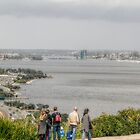 South Perth from King's Park, Western Australia by Elaine Teague