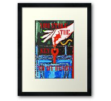 YOU STOLE THE KEY TO MY HEART 2 Framed Print