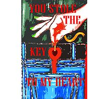 YOU STOLE THE KEY TO MY HEART 2 Photographic Print