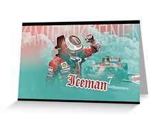 Iceman 7 Ferrari Greeting Card