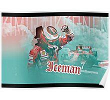 Iceman 7 Ferrari Poster