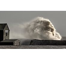 Roaring Wave Photographic Print