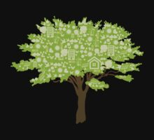 Ecofriendly Tree by BrightDesign