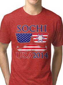 Sochi 2014 2 Tri-blend T-Shirt