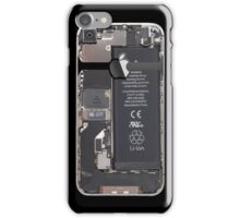 Stripped down iPhone 4s - Black iPhone Case/Skin