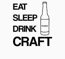 Eat Sleep Drink Craft Black T-Shirt