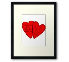 What You Mean To Me Framed Print