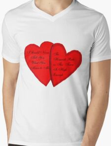 What You Mean To Me Mens V-Neck T-Shirt