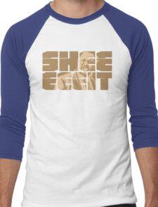 The Senator's Sheeeit Men's Baseball ¾ T-Shirt