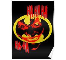 joker and batman Poster
