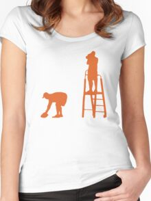 ORANGE OTHER GUYS Women's Fitted Scoop T-Shirt