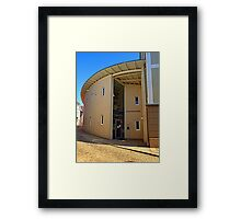 The city library of Rohrbach | architectural photography Framed Print