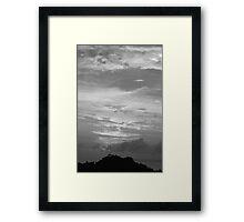 BXW Sunset Manuel Antonio Framed Print