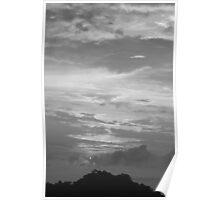 BXW Sunset Manuel Antonio Poster