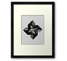 2001 blocks Framed Print