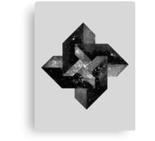 2001 blocks Canvas Print