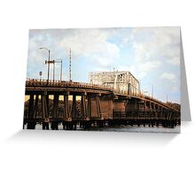 *Beaufort Bridge, SC* Greeting Card