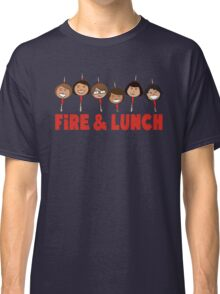 Fire and Lunch Classic T-Shirt