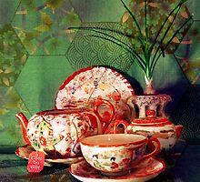 Tea Time by Shawna Rowe