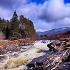 The River Orchy, Argyll, Scotland by Islandsimages