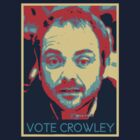 Vote Crowley by poisontao
