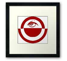 Oppressive Eye Framed Print