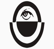 Oppressive Eye (Black) by DustiiDesigns